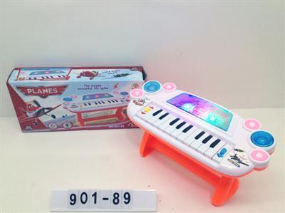 飞机总动员3d灯光音乐电子琴