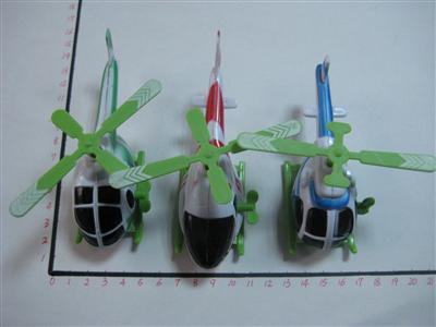BL-D1731 - WIND UP PLANE(3 design,3 col assorted)